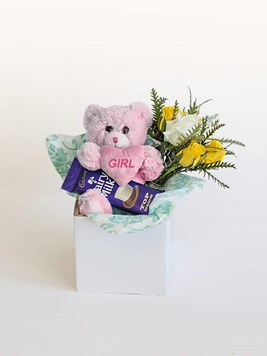 Snack & Gift Hampers: Celebrate A Baby Girl