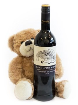 Wine: Teddy Bear & Red Wine