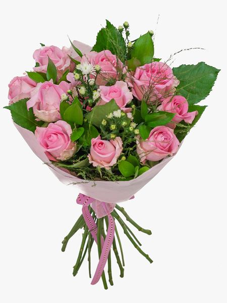 Bouquets: Pretty Pink Rose Bouquet
