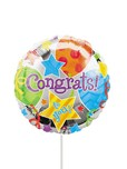 Balloons and Cards: Congratulations Foil Balloon