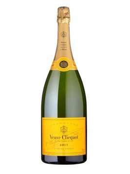 Wine: Veuve Clicquot Yellow Label Champagne
