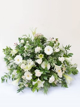 Funeral : Flat Back Church Arrangement Option 2 - AV