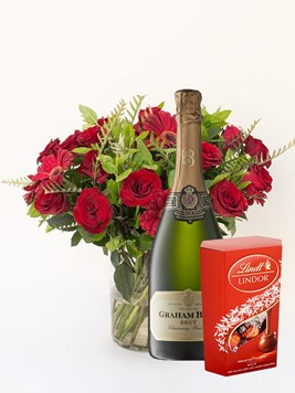 Arrangements: Gorgeous Joy with Lindt Lindor & Graham Beck