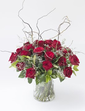 Arrangements: Curly Willow Love