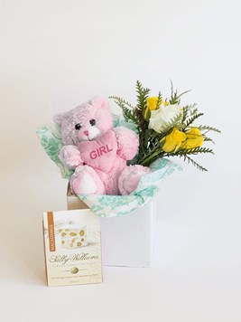 Snack & Gift Hampers: Celebrate a Baby Girl with Sally Williams