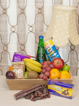 Snack & Gift Hampers: Fruit, Biltong and Snack Hamper