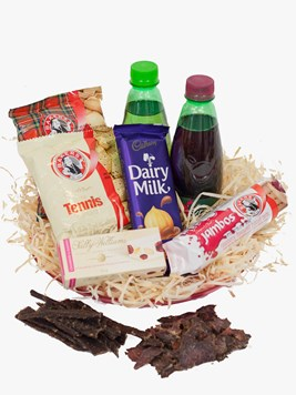 Snack & Gift Hampers: Snack platter with Nougat & Biltong